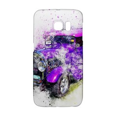 Car Old Car Art Abstract Galaxy S6 Edge by Celenk