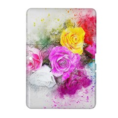 Flowers Bouquet Art Abstract Samsung Galaxy Tab 2 (10 1 ) P5100 Hardshell Case  by Celenk