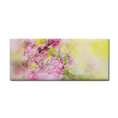 Flowers Pink Art Abstract Nature Cosmetic Storage Cases by Celenk