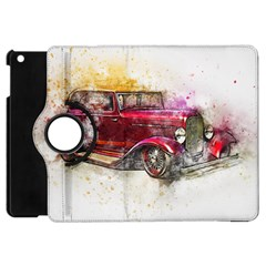 Car Old Car Art Abstract Apple Ipad Mini Flip 360 Case by Celenk