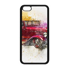 Car Old Car Art Abstract Apple Iphone 5c Seamless Case (black) by Celenk