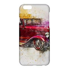 Car Old Car Art Abstract Apple Iphone 6 Plus/6s Plus Hardshell Case by Celenk