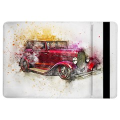 Car Old Car Art Abstract Ipad Air 2 Flip by Celenk