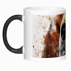 Dog Basset Pet Art Abstract Morph Mugs by Celenk