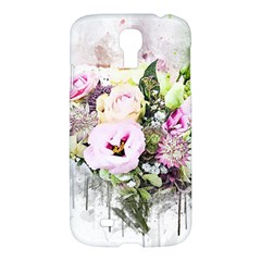 Flowers Bouquet Art Abstract Samsung Galaxy S4 I9500/i9505 Hardshell Case by Celenk