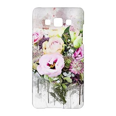 Flowers Bouquet Art Abstract Samsung Galaxy A5 Hardshell Case  by Celenk