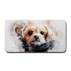 Dog Animal Pet Art Abstract Medium Bar Mats by Celenk