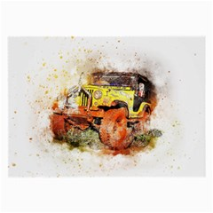 Car Old Car Fart Abstract Large Glasses Cloth by Celenk