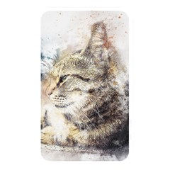 Cat Animal Art Abstract Watercolor Memory Card Reader by Celenk