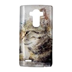 Cat Animal Art Abstract Watercolor Lg G4 Hardshell Case by Celenk