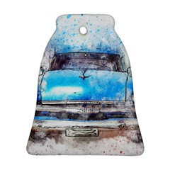 Car Old Car Art Abstract Ornament (bell) by Celenk