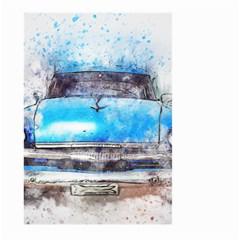 Car Old Car Art Abstract Large Garden Flag (two Sides) by Celenk