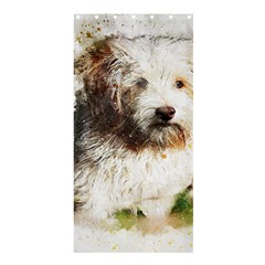 Dog Animal Pet Art Abstract Shower Curtain 36  X 72  (stall)  by Celenk