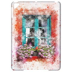 Window Flowers Nature Art Abstract Apple Ipad Pro 9 7   Hardshell Case by Celenk