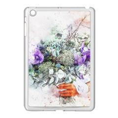 Flowers Bouquet Art Abstract Apple Ipad Mini Case (white) by Celenk