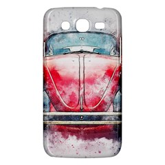Red Car Old Car Art Abstract Samsung Galaxy Mega 5 8 I9152 Hardshell Case  by Celenk