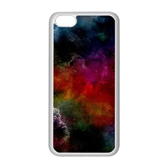Abstract Picture Pattern Galaxy Apple Iphone 5c Seamless Case (white) by Celenk