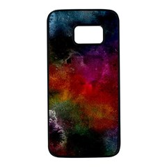 Abstract Picture Pattern Galaxy Samsung Galaxy S7 Black Seamless Case by Celenk