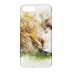 Bear Baby Sitting Art Abstract Apple Iphone 8 Plus Hardshell Case by Celenk