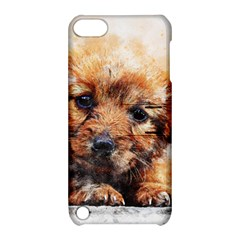 Dog Puppy Animal Art Abstract Apple Ipod Touch 5 Hardshell Case With Stand by Celenk