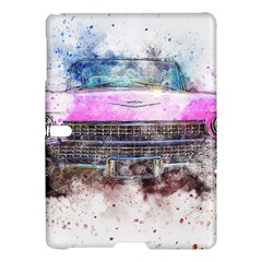 Pink Car Old Art Abstract Samsung Galaxy Tab S (10 5 ) Hardshell Case  by Celenk