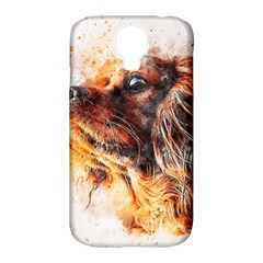 Dog Animal Pet Art Abstract Samsung Galaxy S4 Classic Hardshell Case (pc+silicone) by Celenk