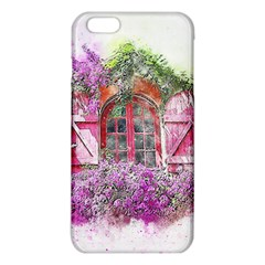 Window Flowers Nature Art Abstract Iphone 6 Plus/6s Plus Tpu Case by Celenk