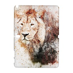 Lion Animal Art Abstract Galaxy Note 1
