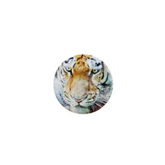 Tiger Animal Art Abstract 1  Mini Magnets by Celenk