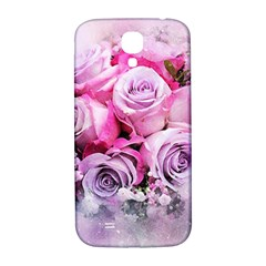 Flowers Roses Bouquet Art Abstract Samsung Galaxy S4 I9500/i9505  Hardshell Back Case by Celenk