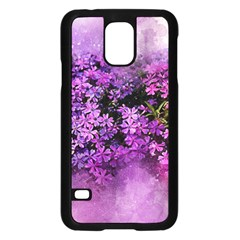 Flowers Spring Art Abstract Nature Samsung Galaxy S5 Case (black)