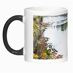 River Water Art Abstract Stones Morph Mugs by Celenk