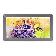 Fruit Plums Art Abstract Nature Memory Card Reader (mini) by Celenk
