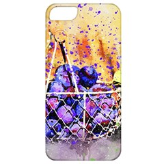 Fruit Plums Art Abstract Nature Apple Iphone 5 Classic Hardshell Case by Celenk