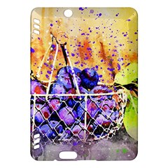 Fruit Plums Art Abstract Nature Kindle Fire Hdx Hardshell Case by Celenk