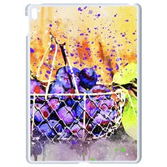 Fruit Plums Art Abstract Nature Apple Ipad Pro 9 7   White Seamless Case by Celenk