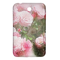 Flowers Roses Art Abstract Nature Samsung Galaxy Tab 3 (7 ) P3200 Hardshell Case  by Celenk