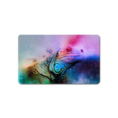 Lizard Reptile Art Abstract Animal Magnet (name Card) by Celenk