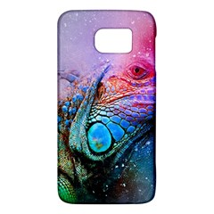 Lizard Reptile Art Abstract Animal Galaxy S6 by Celenk