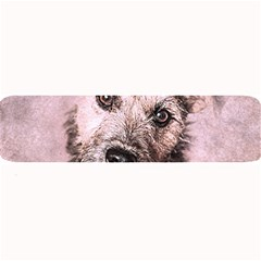 Dog Pet Terrier Art Abstract Large Bar Mats by Celenk