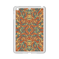 Multicolored Abstract Ornate Pattern Ipad Mini 2 Enamel Coated Cases by dflcprints