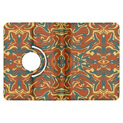 Multicolored Abstract Ornate Pattern Kindle Fire Hdx Flip 360 Case by dflcprints