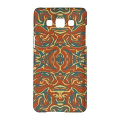 Multicolored Abstract Ornate Pattern Samsung Galaxy A5 Hardshell Case  by dflcprints