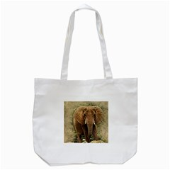 Elephant Animal Art Abstract Tote Bag (white) by Celenk