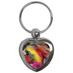 Background Art Abstract Watercolor Key Chains (heart)  by Celenk