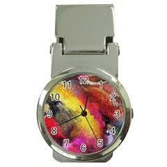 Background Art Abstract Watercolor Money Clip Watches by Celenk