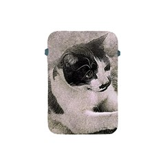 Cat Pet Art Abstract Vintage Apple Ipad Mini Protective Soft Cases by Celenk