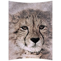 Leopard Art Abstract Vintage Baby Back Support Cushion by Celenk