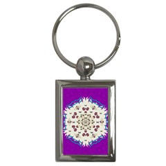 Eyes Looking For The Finest In Life As Calm Love Key Chains (rectangle)  by pepitasart