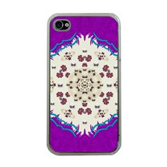 Eyes Looking For The Finest In Life As Calm Love Apple Iphone 4 Case (clear) by pepitasart